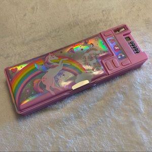 3/$30 💠 All-in-One Unicorn Pencil Case